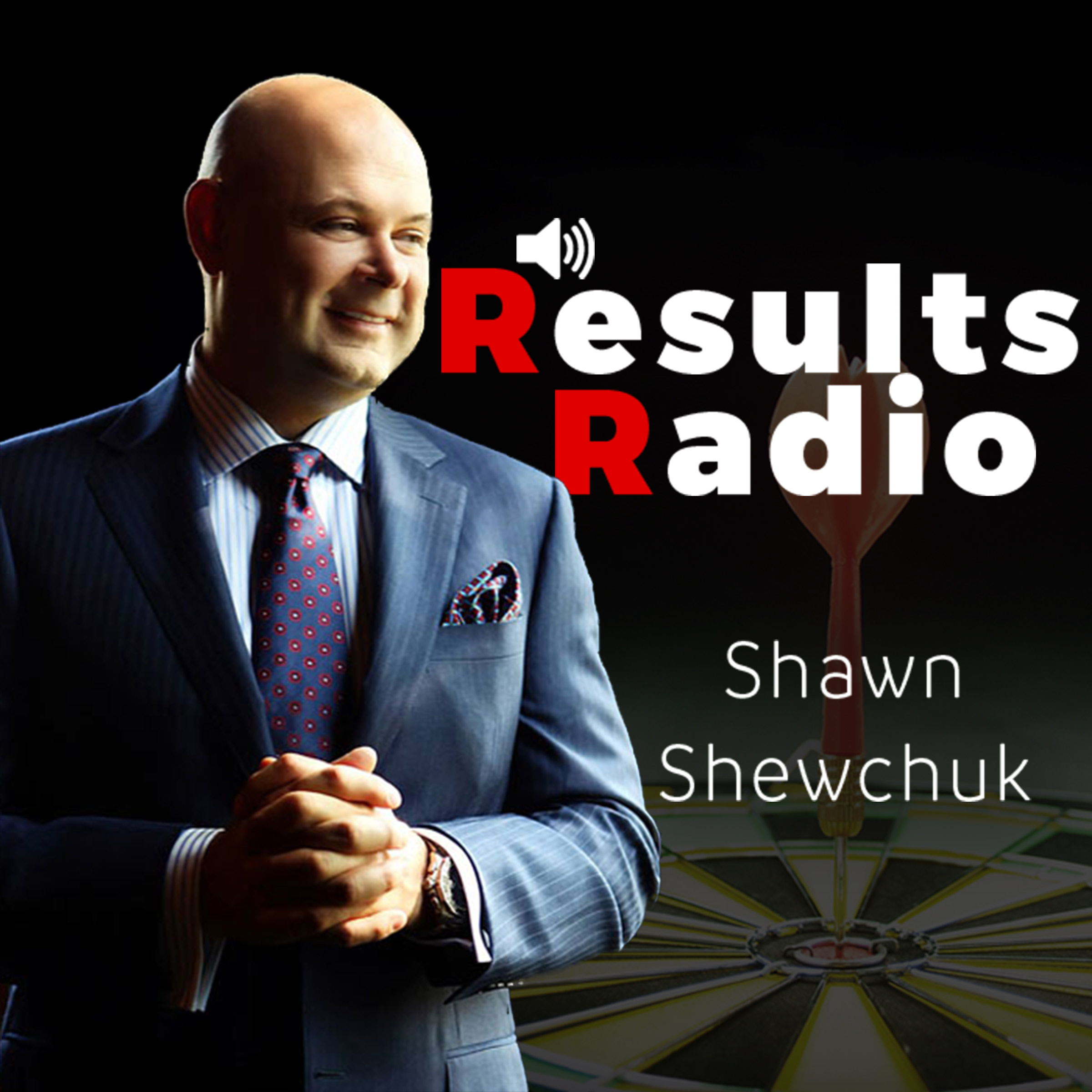 Results Radio with Shawn Shewchuk show art