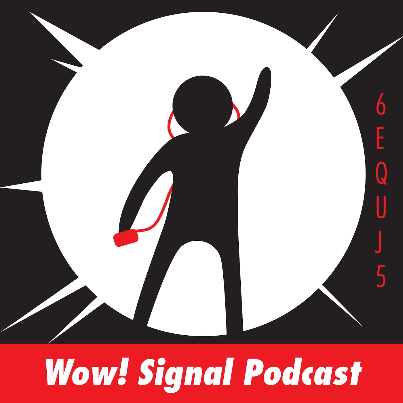The Wow! Signal Podcast show art