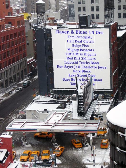 Raven and Blues 14 Dec 2013