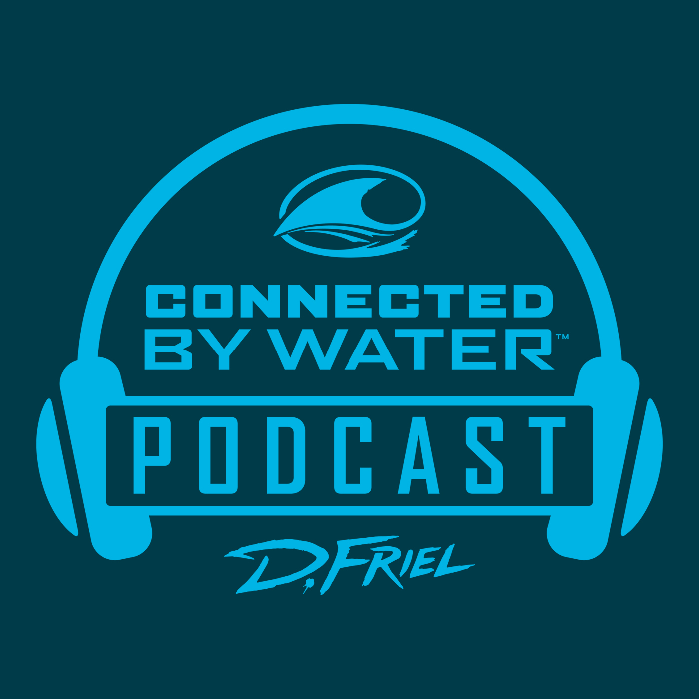 Podcast D.Friel - Connected by Water show art