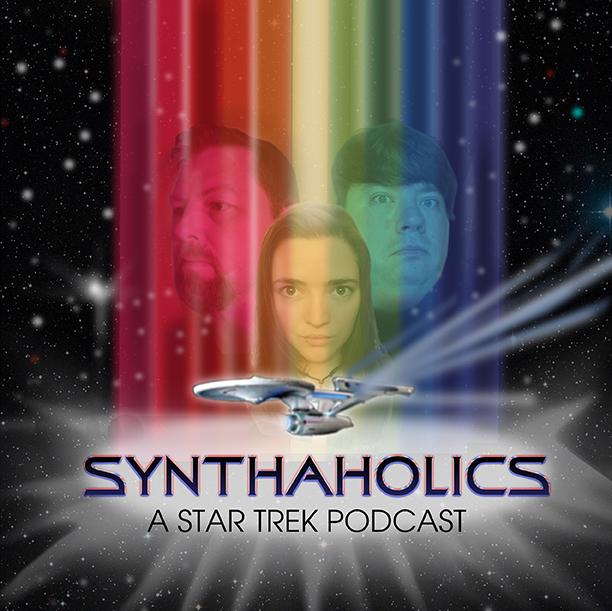 Synthaholics: A Star Trek Podcast show art