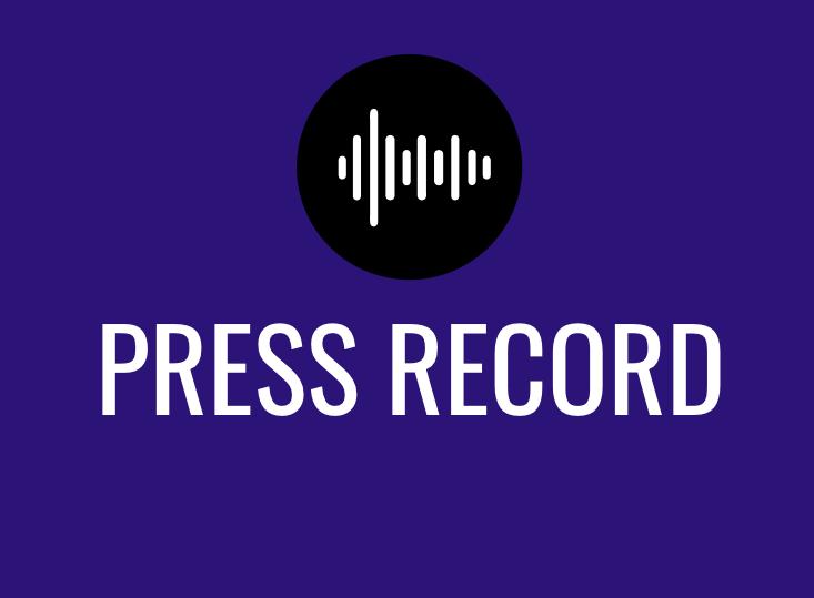 Press Record show art