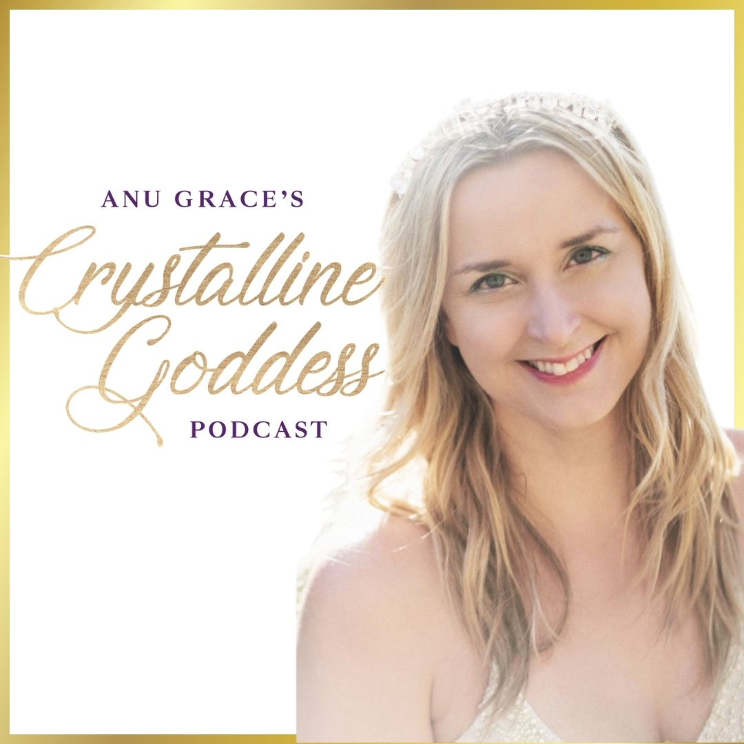 Crystalline Goddess Podcast show art