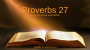 Artwork for Proverbs 27