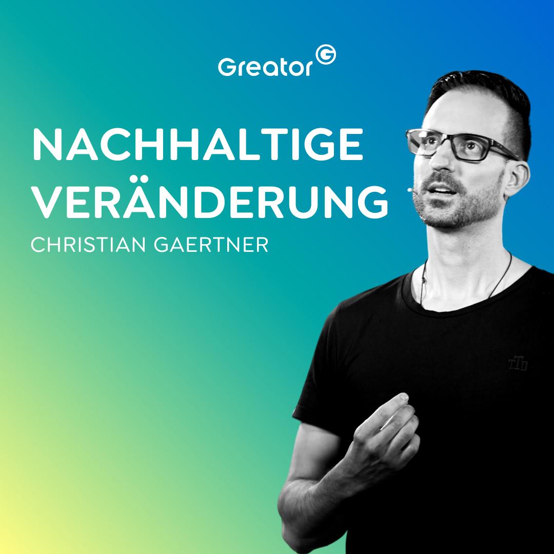 #744 Welche Geschichte erzählst du dir? // Christian Gaertner