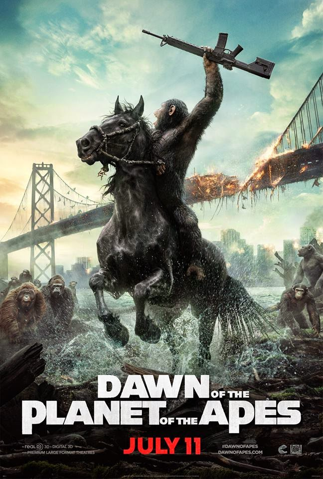 Ep. 19 - Dawn of the Planet of the Apes (Planet of the Apes vs. Planet of the Apes)