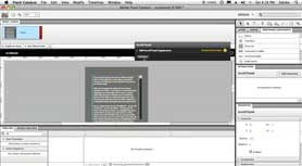 Create a Scrolling Text Panel in Adobe Flash Catalyst