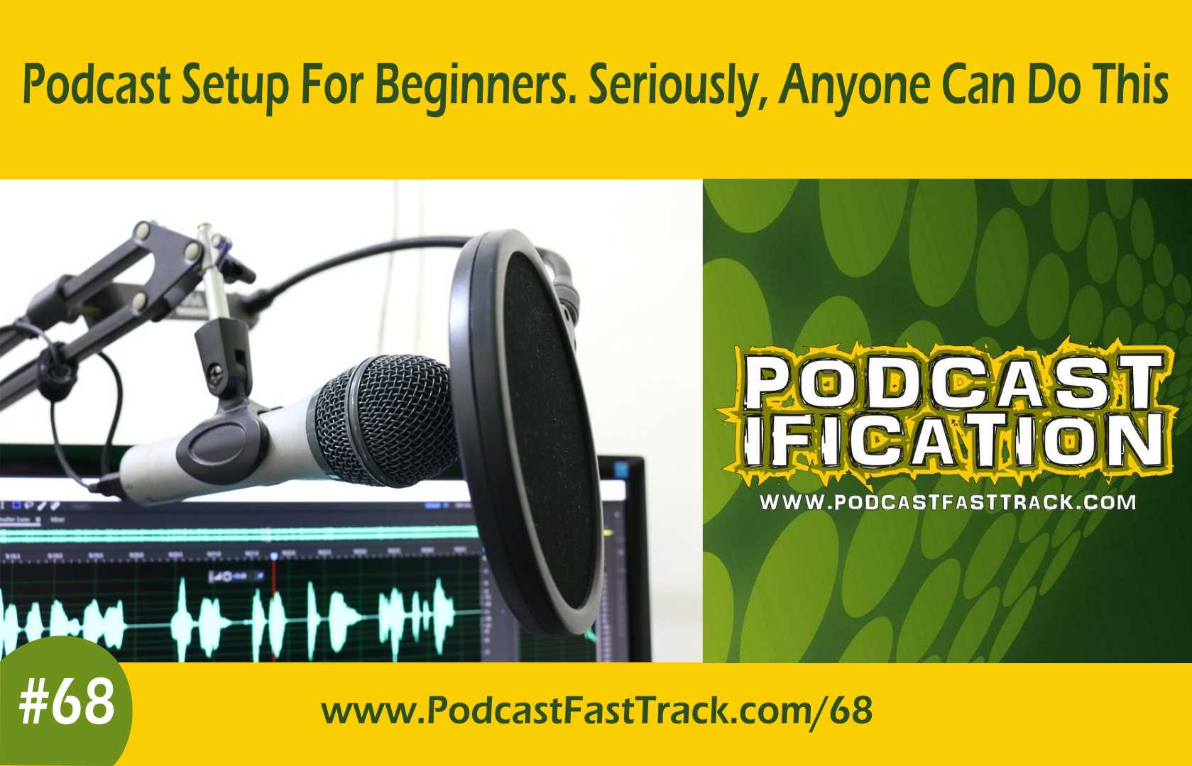 podcastificating world of podcasting  I've build a business to