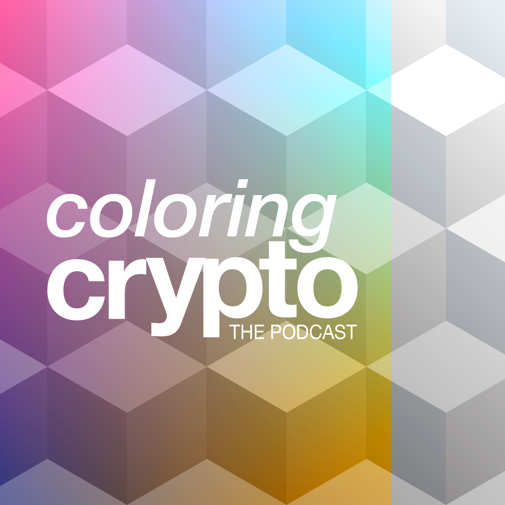 Coloring Crypto show art