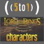 Artwork for 24 - Lord of the Rings Characters - 5 to 1