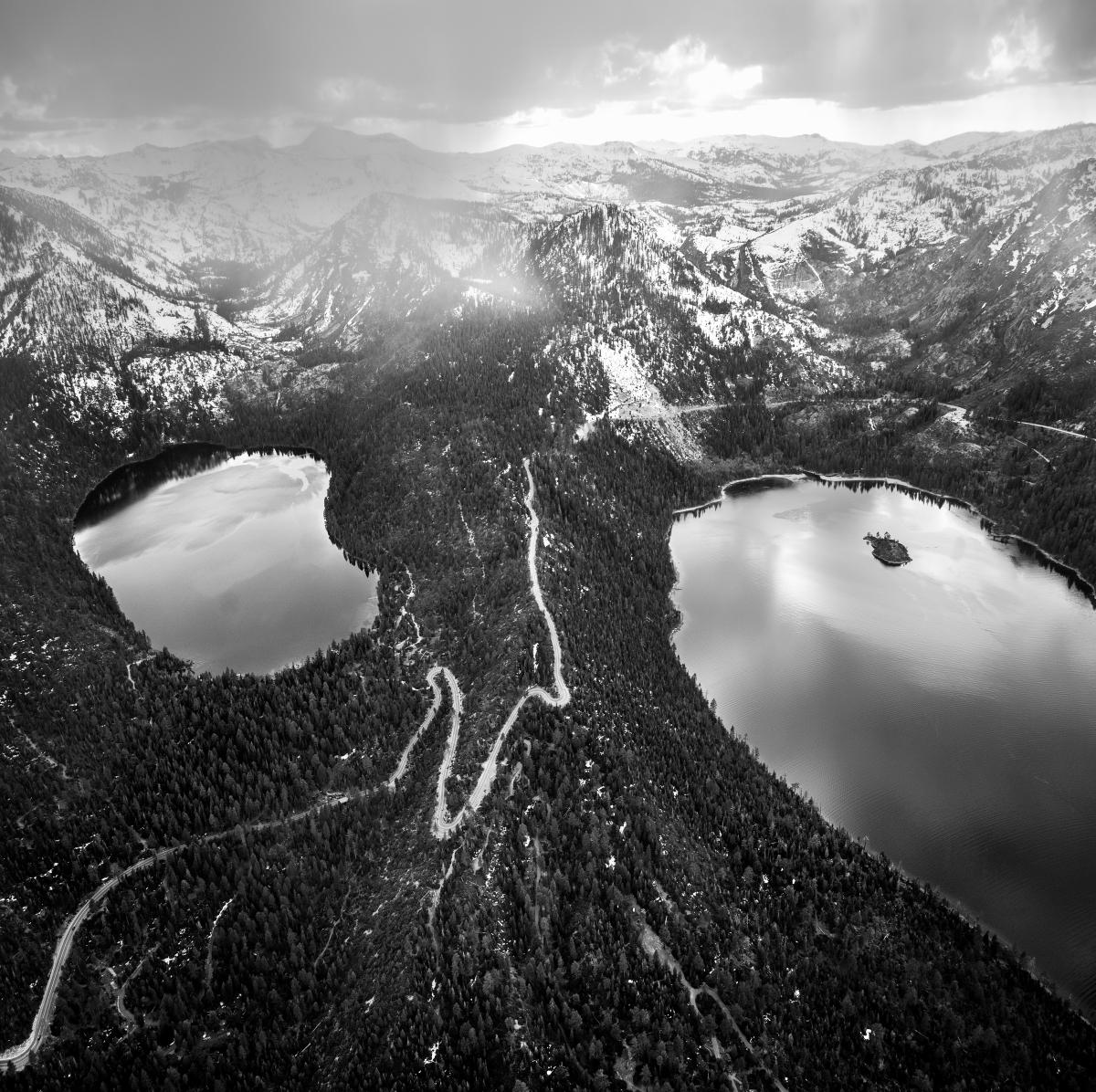 The Lake Tahoe region in art