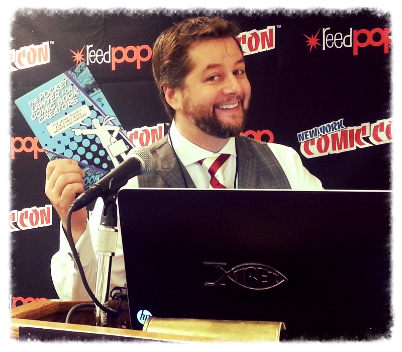 Comic Book Bears Podcast Issue #105 - The Pocket Lawyer for Comic Book Creators and NYCC 2016 Preview