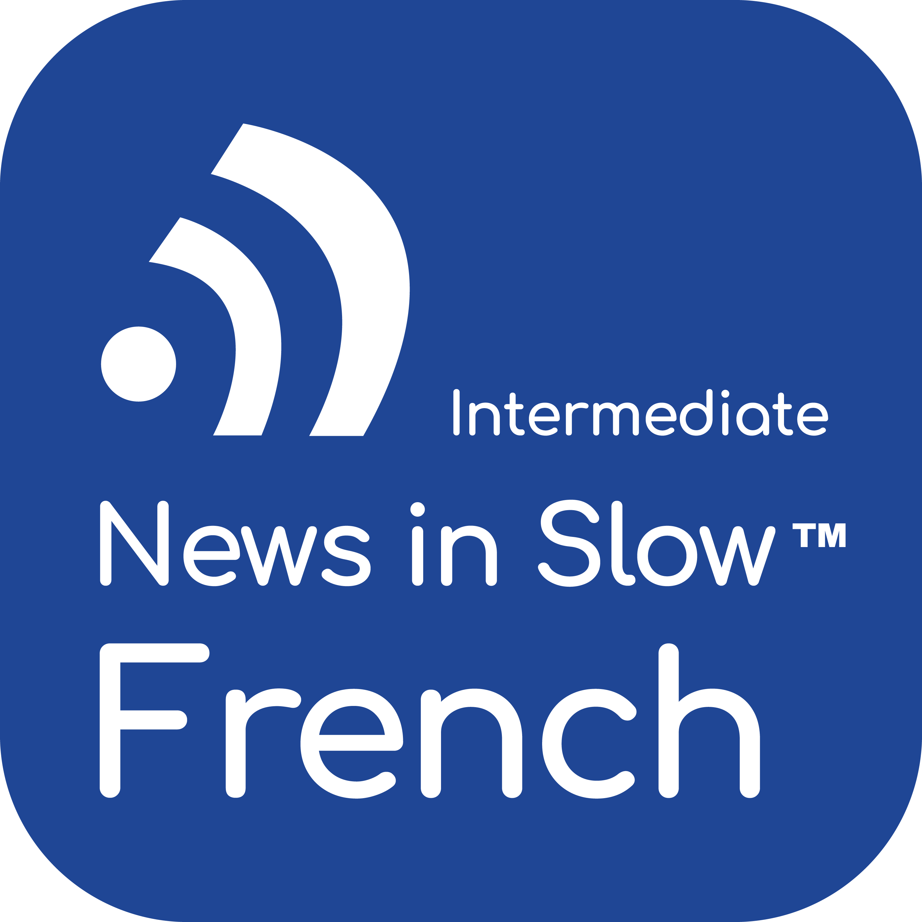 News in Slow French #496 - Best French Program for Intermediate Learners