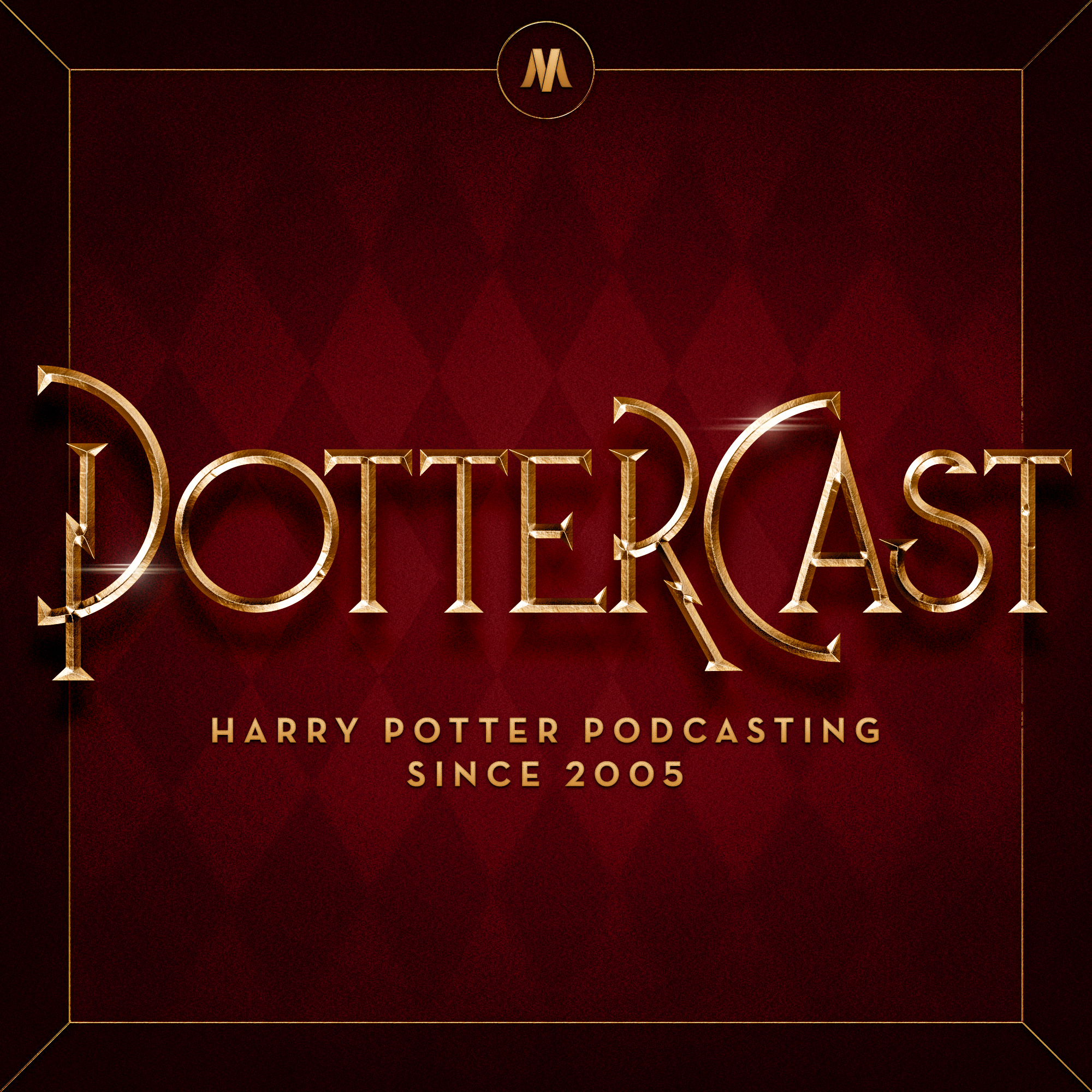 PotterCast: The Harry Potter podcast since 2005 show art