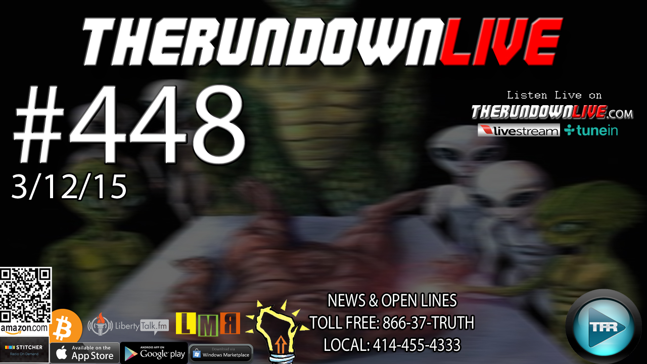 The Rundown Live #448 Open Lines (Ferguson,Police,Post Office Surveillance)