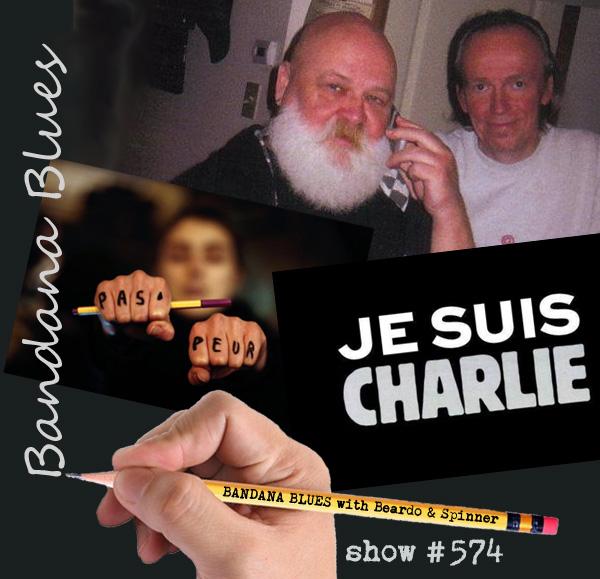 Bandana Blues#574 Je Suis Charlie