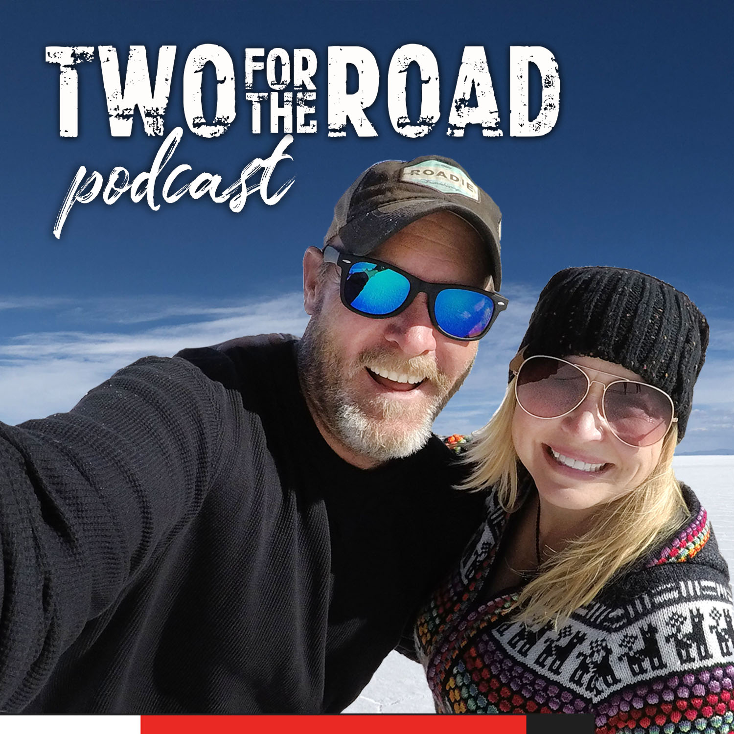 The Two for the Road Podcast show art