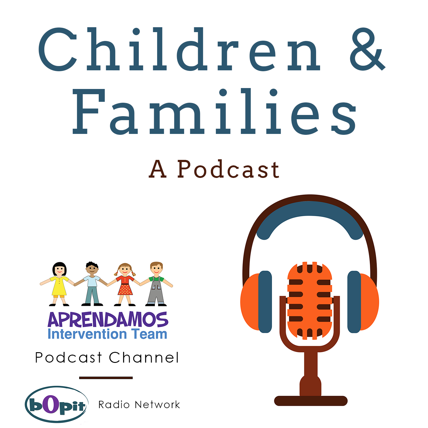 Children & Families's podcast show art