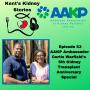 Artwork for Episode 53: AAKP Ambassador Curtis Warfield's 5th Kidney Transplant Anniversary Special
