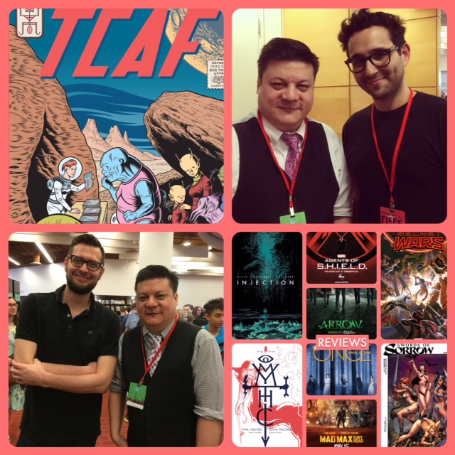 Episode 609 - TCAF: Michel Fiffe/Kagan McLeod