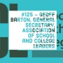 Artwork for #125 - Geoff Barton, the General Secretary of the Association of School and College Leaders