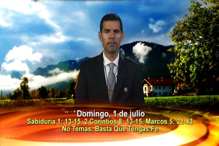 """Artwork for Dios te Habla con Jose Luis Elias;  Tema el hoy: """"No temas, basta que tengas fe""""."""