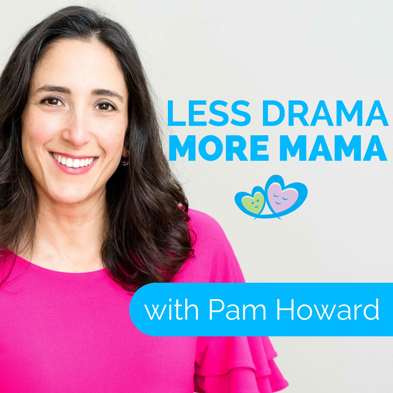 Less Drama More Mama show art