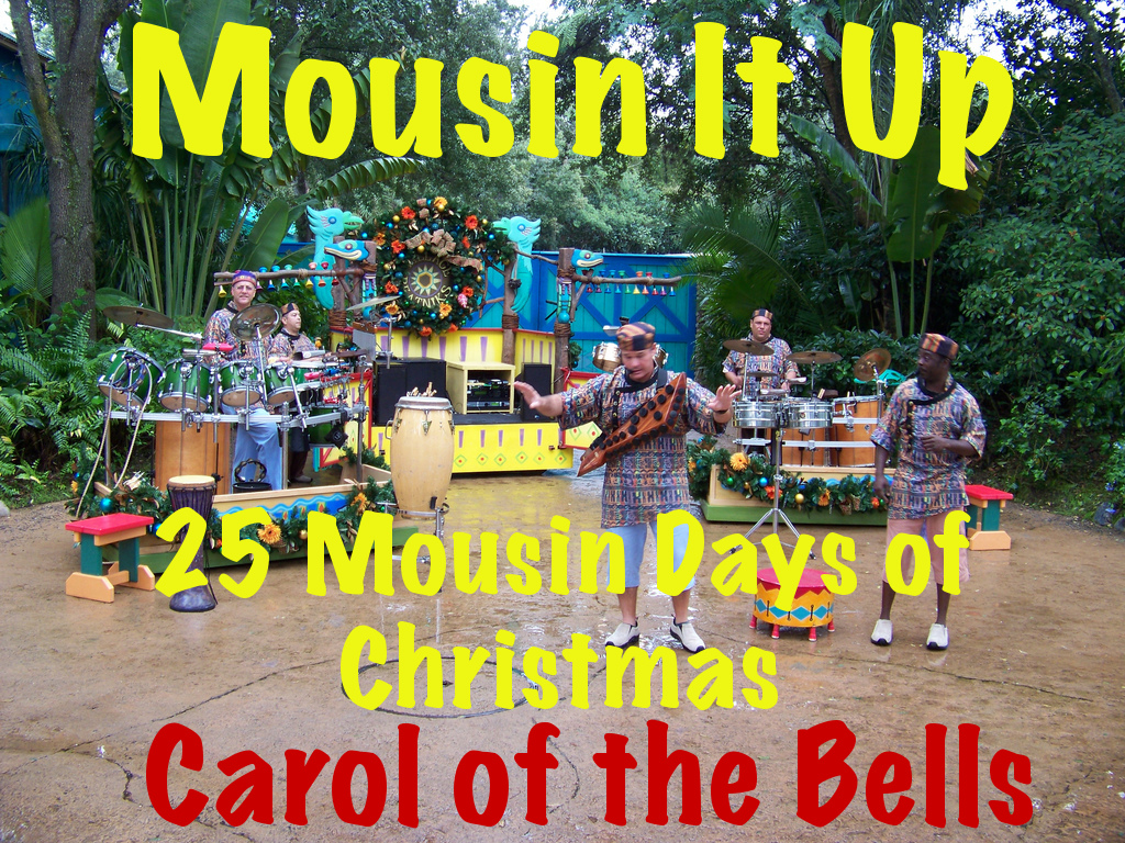 25 Mousin Days of Christmas - Day 6 Carol of the Bells