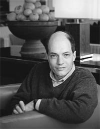 Philosophical journalist Alain de Botton