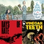 Artwork for Episode 265: Reviews of The Three Rooms in Valerie's Head, Days of Hate #1, and Vinegar Teeth # 1