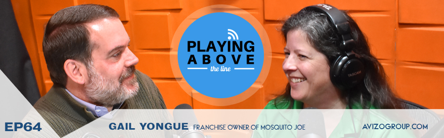 Gail Yongue on the Playing Above the Line Podcast