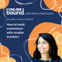 Artwork for How to build momentum with smaller numbers with Meera Kothand