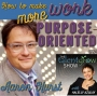 Artwork for 24: How to make work more purpose-oriented with Aaron Hurst on the TalentGrow Show