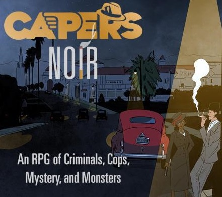 Artwork for C&C Presents: Capers Noir: The Happiest of Endings