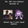 Artwork for dotnet new3 with Sayed Hashimi