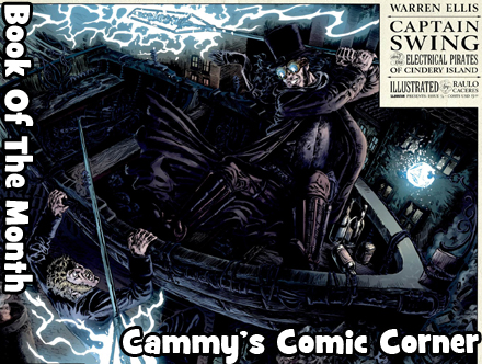 Cammy's Comic Corner - Book Of The Month - Captain Swing