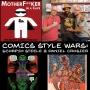Artwork for Comics Style Wars - Scorpio Steele & Daniel Crosier