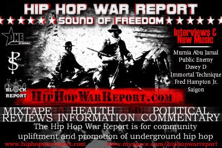 "Hip Hop War Report Episode 16 -""War Mix""-(Mumia Abu Jamal, Styles P, AKIR, Black Thought, Rhymefest)"