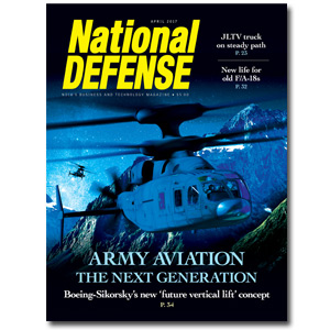 Artwork for April 2017- Army Aviation: The Next Generation