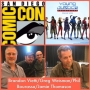Artwork for Episode 880 - SDCC: Young Justice: Outsiders w/ producer Brandon Vietti/producer Greg Weisman/art director Phil Bourassa/voice director Jamie Thomason!