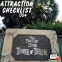 Artwork for The Twilight Zone Tower of Terror - Disney California Adventure - Attraction Checklist #004