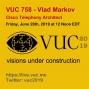 Artwork for VUC758 - Vlad Markov, Telephony Architect