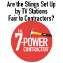 Artwork for Are the Stings Set Up by TV Stations Fair to Contractors?