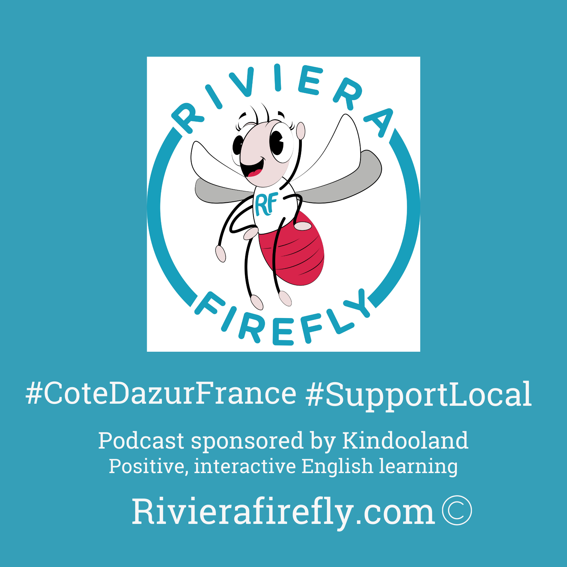 French Riviera Firefly Podcast show art