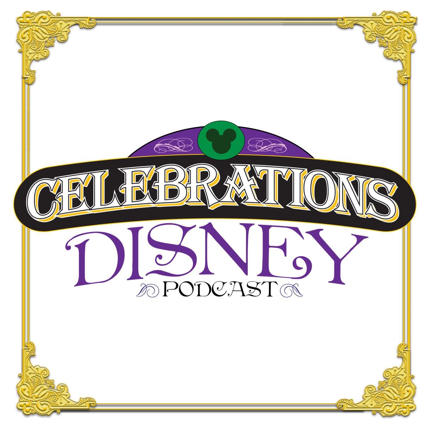 Celebrations Disney Podcast show art