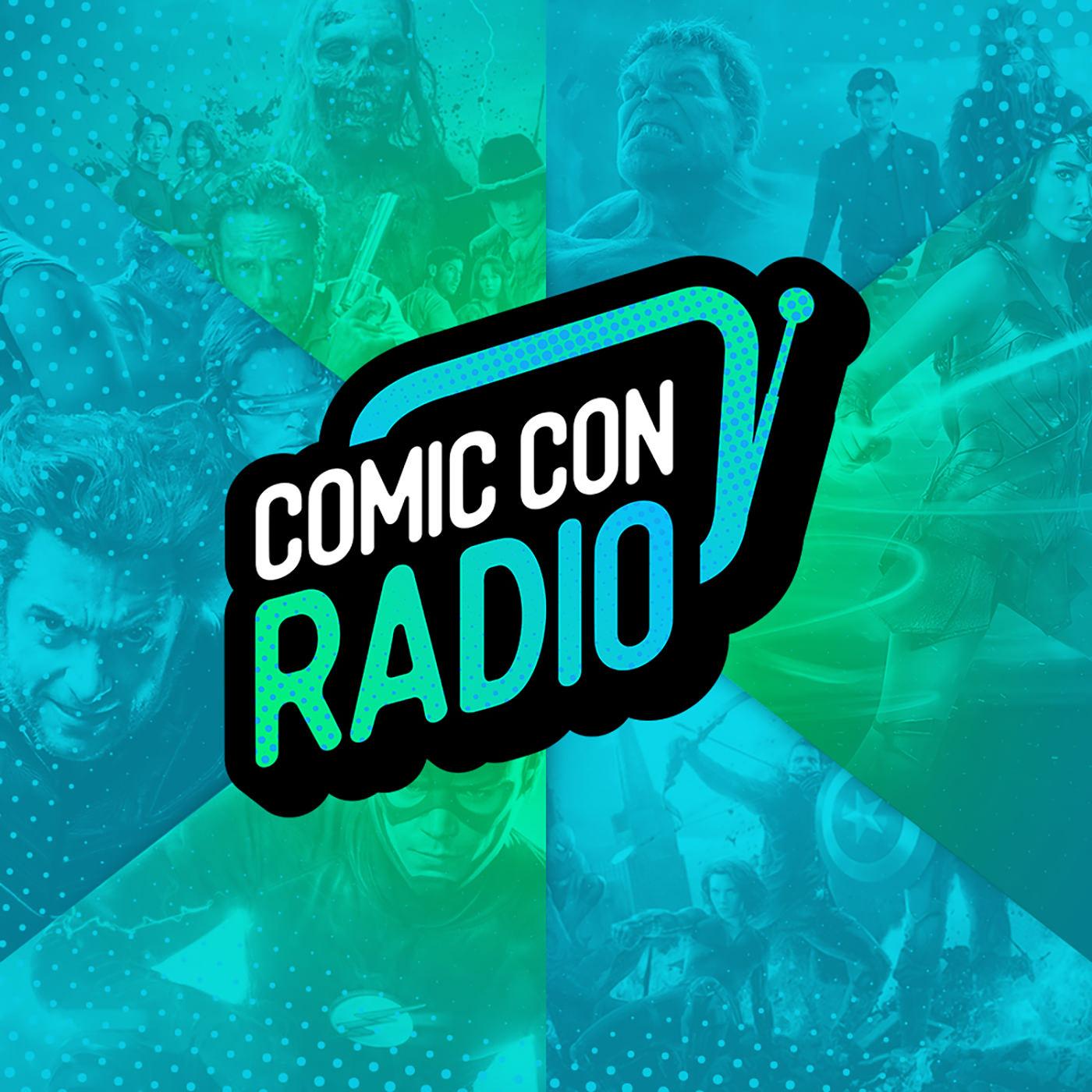 Comic Con Radio show art
