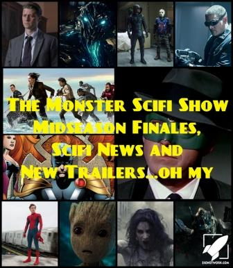 The Monster Scifi Show Podcast - Midseason finales, Scifi News, New Trailer... oh my.