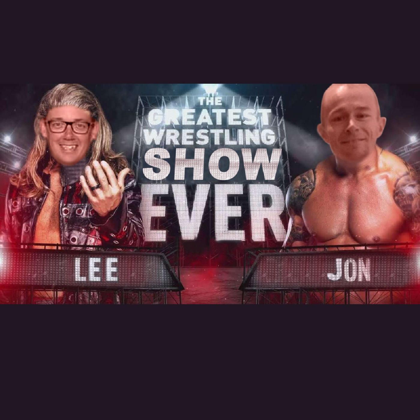 The Greatest Wrestling Show Ever's podcast show art