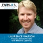Artwork for Tracking CO2 Emissions with Machine Learning with Laurence Watson - TWIML Talk #277