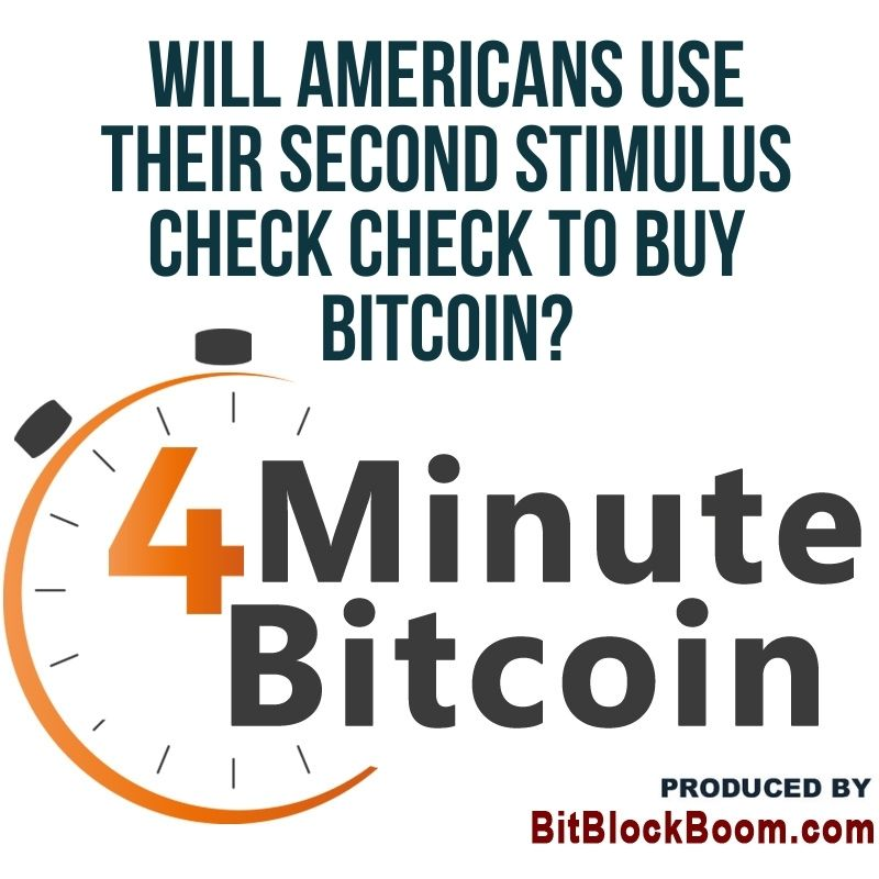 Will Americans Use Their Second Stimulus Check Check To Buy Bitcoin?